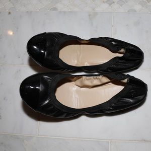 Cole Haan Black New Patent Leather Ballet Flats